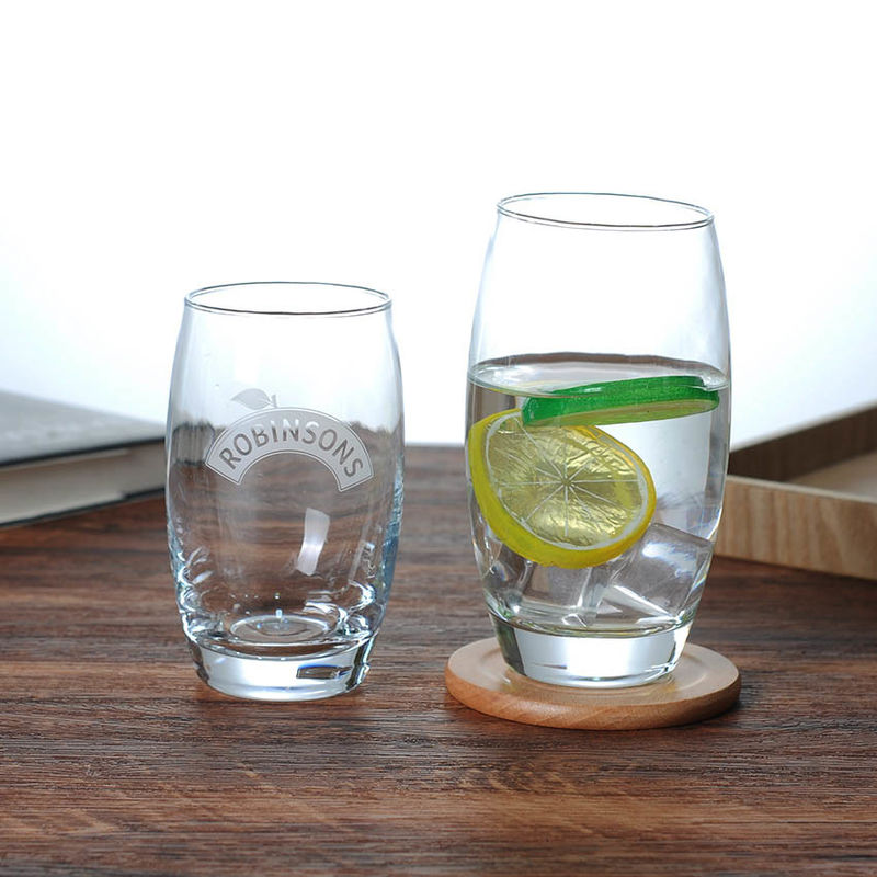 340ml Promotional Water Drinking Glass